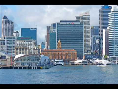 """Auckland - New Zealand """"City of Sails"""" Cityscapes"""