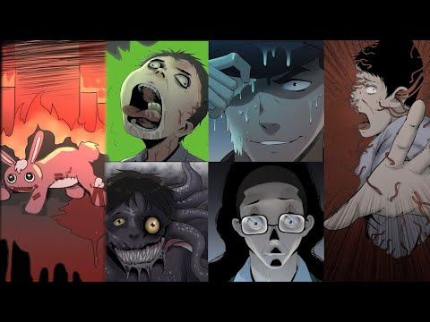 10 Scary Stories Animated (Compilation Of January 2021)