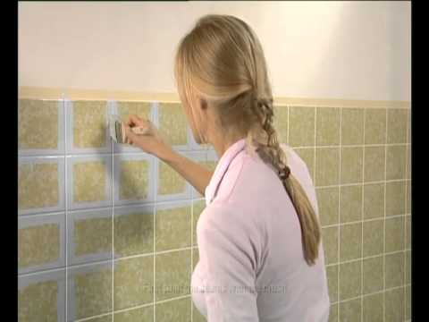Kitchen Tiles Painted Over jaeger paint over tiles - youtube