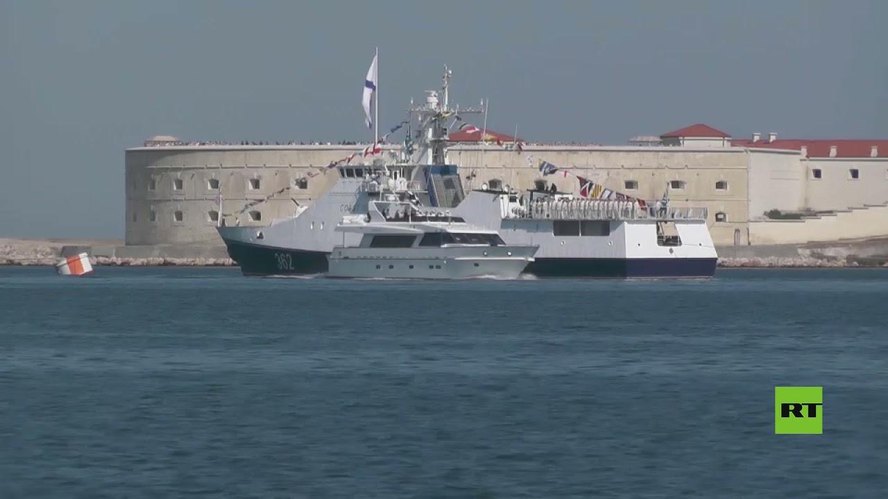 مشاهد من العروض العسكرية البحرية بمناسبة الأسطول الحربي الروسي في سيفاستوبول وفلاديفوستوك  - نشر قبل 2 ساعة