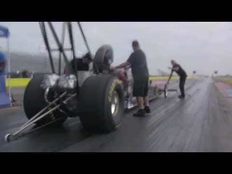 Aaron Tatum A-Fuel Dragster Explosion