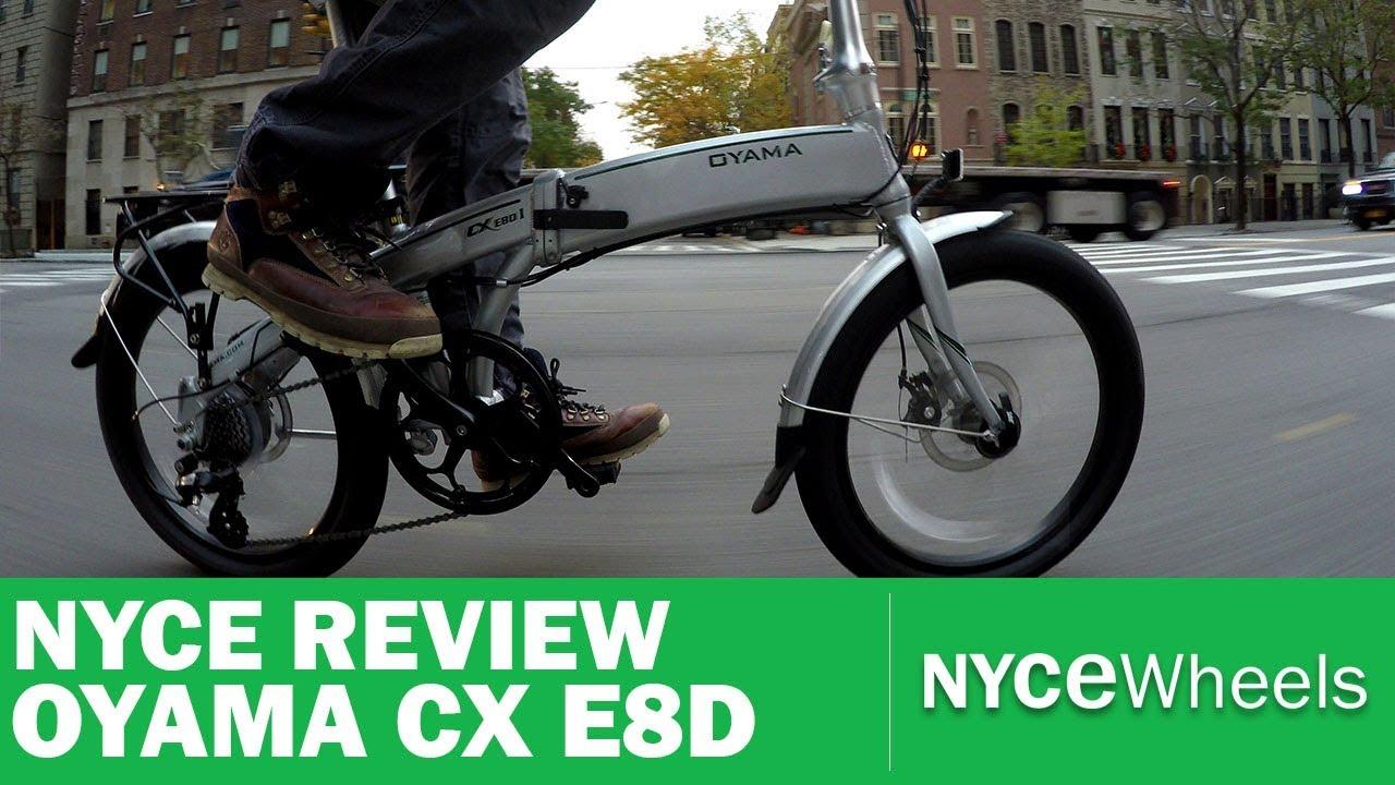 OYAMA CX E8D   $1499 Folding Electric Bike Review