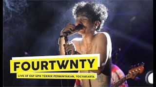 [HD] Fourtwnty - Aku Tenang (Live at ESP, 2018 Yogyakarta)