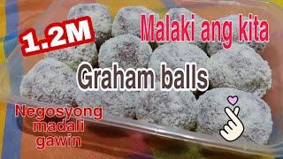 Graham balls/Negosyong Patok/Madaling gawin/Malaki ang kita/Paborito ng mga bata