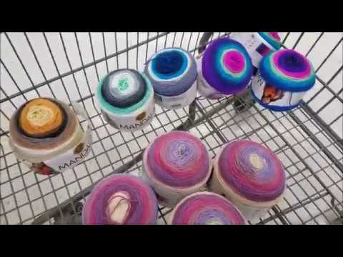 Join me as I look for yarn at Walmart and then head to my Goodwill store for purse supplies