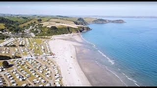 Pentewan Sands Holiday Park, Cornwall