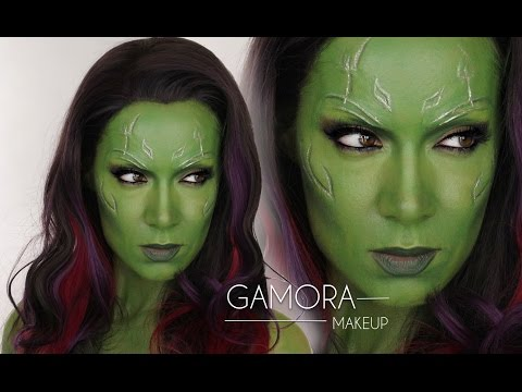 Gamora Guardians of the Galaxy MakeUp Tutorial | Shonagh Scott | Gamora Halloween Cosplay