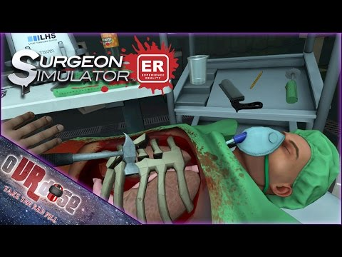 Surgeon Simulator ER VR! - Medical Malpractice Drug Induced Surgery | HTC VIVE GAMEPLAY