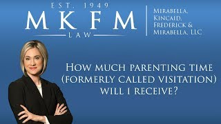 Mirabella, Kincaid, Frederick & Mirabella, LLC Video - How Much Parenting Time (Formerly Called Visitation) Will I Receive?