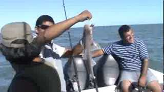 Pesca en Los Pocitos.