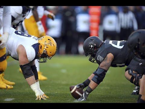 2016 American Football Highlights - Army 21, Navy 17