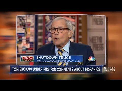 Tom Brokaw Faces Backlash After Assimilation Comments