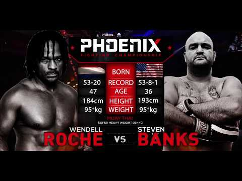 Wendell Roche vs Steven Banks Full Fight (Muay Thai) - Phoenix 2