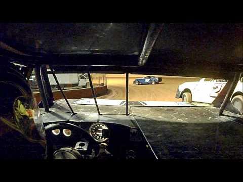 In car cam of Justin Taylor and JJ Garret battling.
