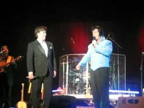 Doug Church and Ronnie McDowell sing The King Is Gone