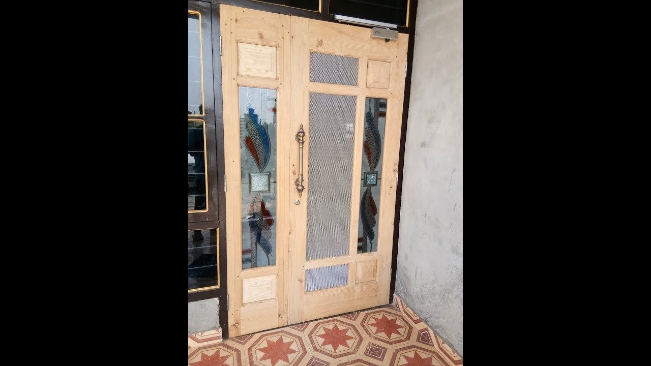 New Mein Wood Door Design 9 Jali Wale Gate 2018 By Wood Working