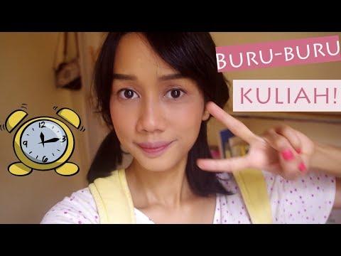 makeup-ke-kampus-untuk-kulit-sawo-matang-+-ombre-lips-tutorial