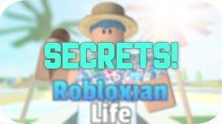 Secrets! | Robloxian Life | Roblox