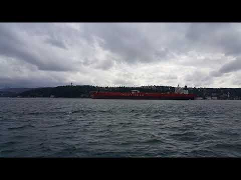 Download M/T AEGEAN UNITY crossing Istanbul Strait Northbound 28.09.2018
