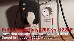AVM Fritz!Powerline 1220E vs. 520E im Test - wie groß ist der Geschwindigkeitsgewinn wirklich? 🧐