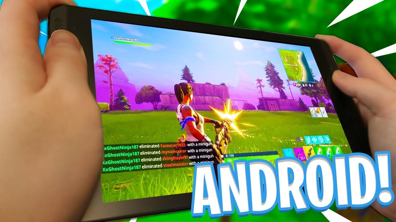 FORTNITE MOBILE ON ANDROID! - How to Download Fortnite on ...