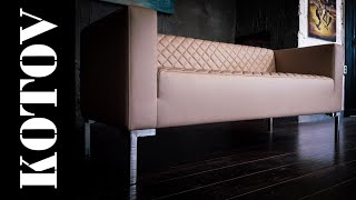 копия итальянского дивана. copy of italian sofa. диван своими руками. timelapse.