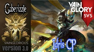 5v5 Gabevizzle | Idris CP - Vainglory hero gameplay from a pro player