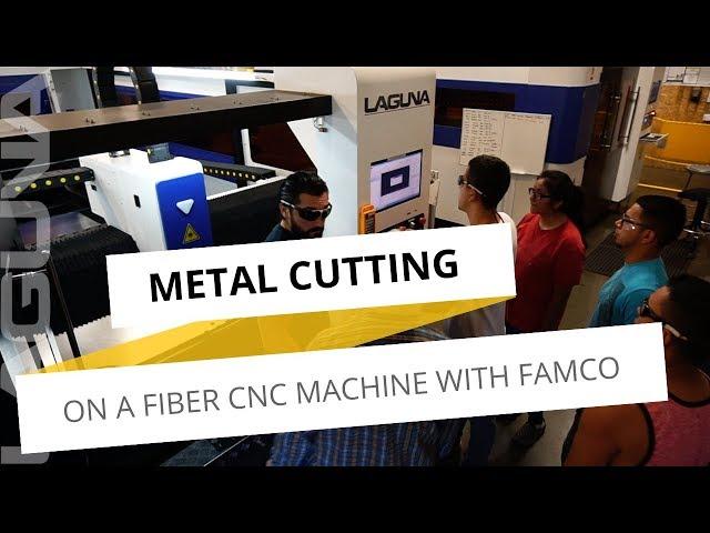 Fiber Laser Cutting Metal with FAMCO and a Laguna Tools Plasma CNC | Laguna Tools