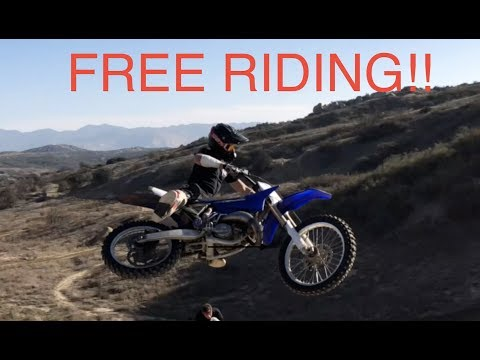 FREE RIDING BEAUMONT DIRT JUMPS!!
