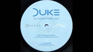 Duke - So In Love With You (Full Intention Remix) (1996) (HQ)