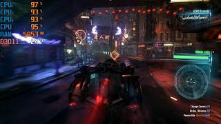 Batman Arkham Knight On Ryzen 3 2200G + Vega 8