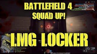 BattleField 4 Squad Up: LMG Locker (BattleField 4 Obliteration Gameplay)