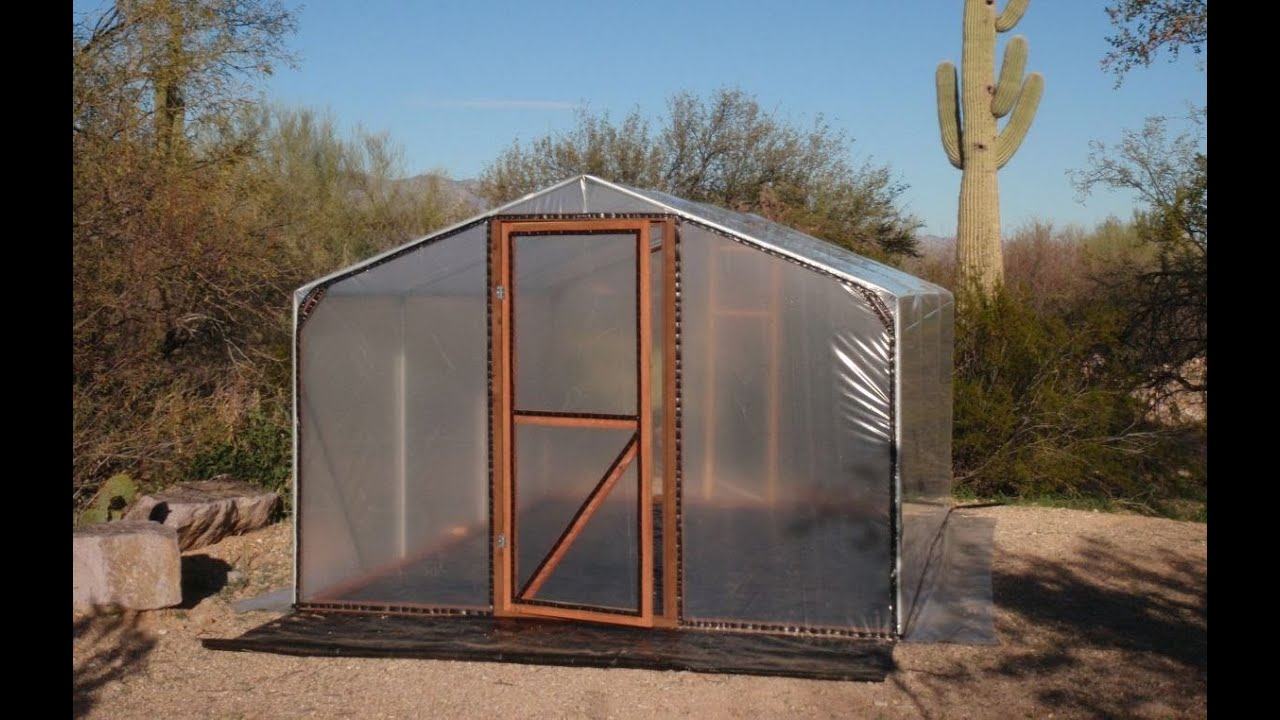 Build A Better Greenhouse   An Affordable Small Hobby House!   YouTube