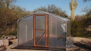 Build A Better Greenhouse - An Affordable Small Hobby House!