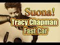 Tracy Chapman Fast Car TAB chitarra how to play