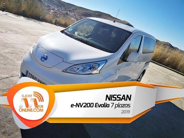 Nissan e NV200 Evalia 2019 / Al volante / Prueba dinámica / Review / Supermotoronline.com