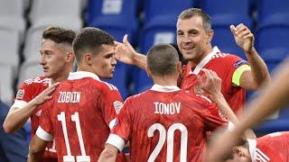 Сборная России разгромила сборную Сербии в Лиге наций