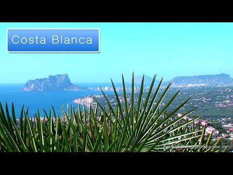 Costa Blanca - Weiße Küste am blauen Meer