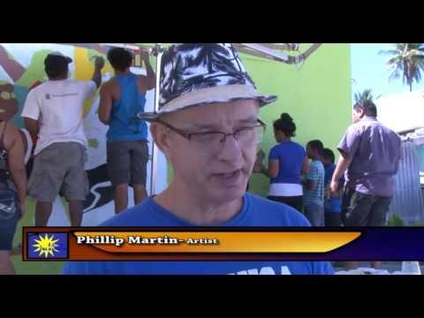 Phillip Martin Muraling in Nauru