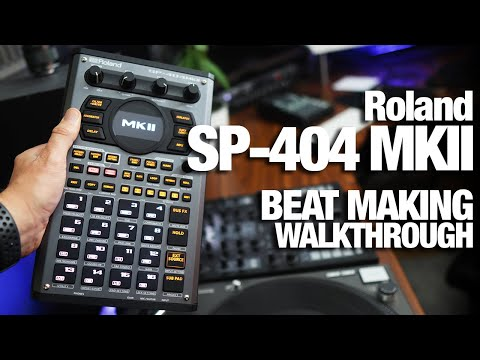 Roland SP-404 MKII - Beatmaking + First impressions