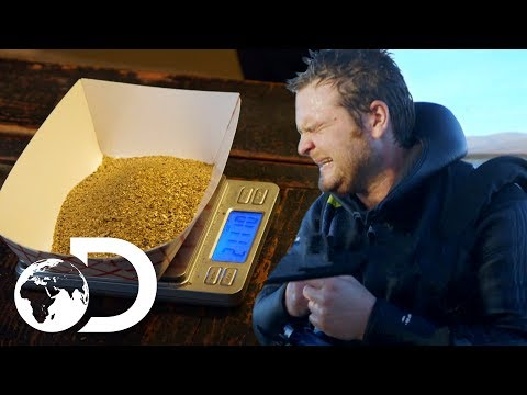 $27,000 Worth of Gold...But I'm Cold | Gold Divers