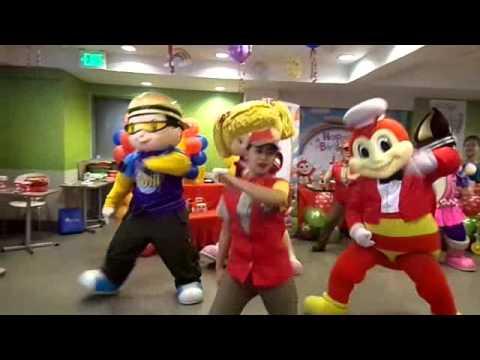 JOLLIBEE DANCE MOVES-JOSHUA JAVIN 1st Birthday at Tagum City