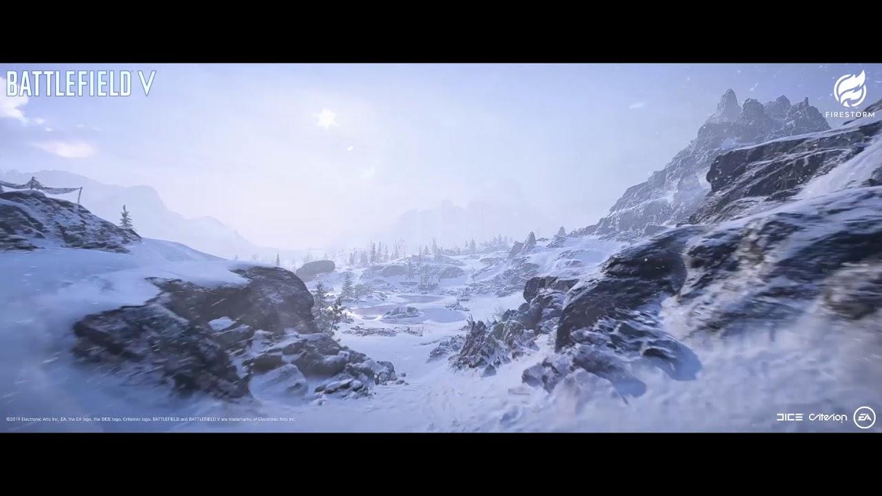BFV FIRESTORM SR Mountain Video