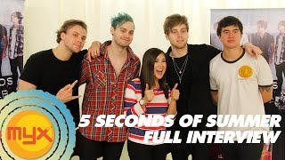 5 SECONDS OF SUMMER Interview With VJ AI!