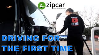 🔵 DUMB New Driver driving Zipcar for the first time around London in Hyundai i30