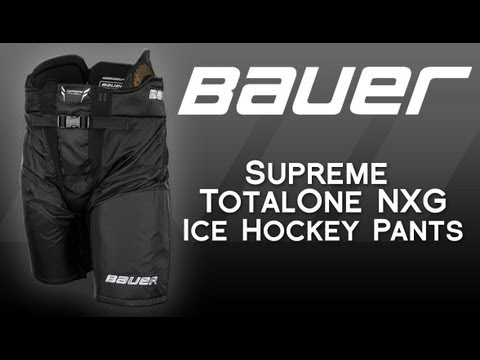 c4c829b7a17c1b Bauer Supreme TotalOne NXG Ice Hockey Pant Review - YouTube