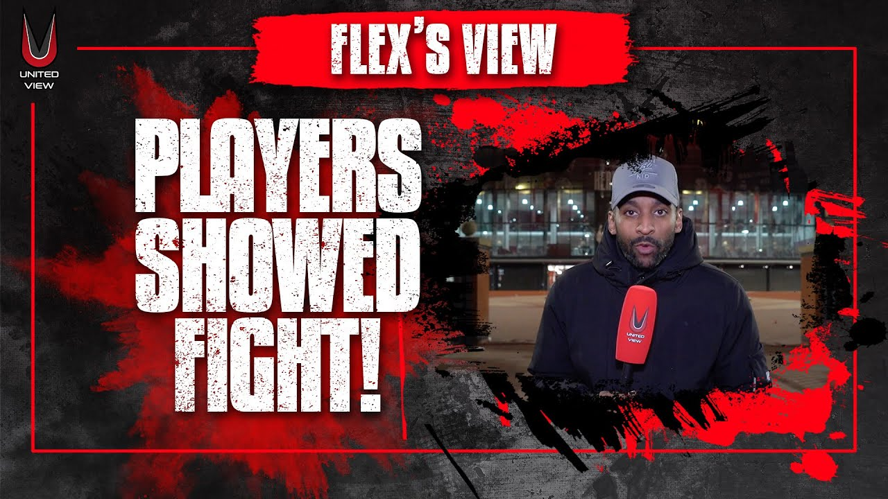 Download FLEX'S VIEW: PLAYERS SHOWED FIGHT! Manchester United 3-2 Atalanta