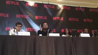 Narcos Cast at Netflix Latin American Press Conference 3