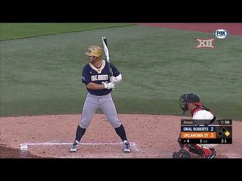 Oral Roberts vs Oklahoma State Baseball Highlights - Apr. 17