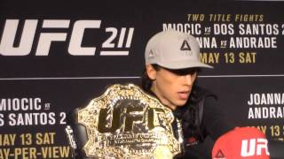 Joanna Jędrzejczyk says she put on a Lomachenko-type performance at UFC 211